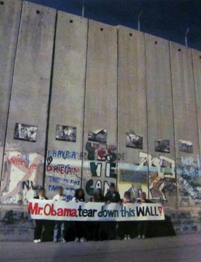 Allow peace to be made-Tear down this wall